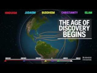 Как религия распространялась в мире