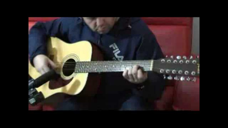 Amazing 12 string guitar piece Writen and Played by Mark Shobbrook called Blue House