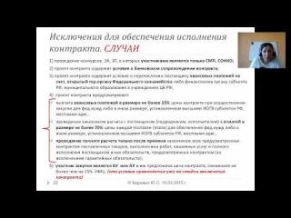 """Вебинар """"Порядок и особенности применения заказчиками антикризисных мер при проведении закупок в соответствии с Законом 44-ФЗ"""" о"""