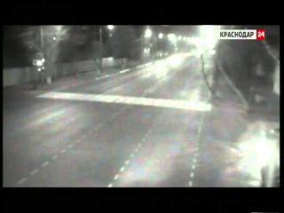 Декабрь 2014. Камеры зафиксировали в Краснодаре две массовые аварии