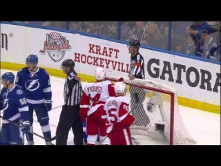 2015 - Game #2 ADSF: Detroit Red Wings Vs Tampa Bay Lightning. April 18th 2015. (HD)