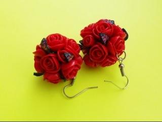 Цветочные шары из роз