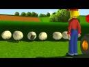 Мультфильм Трактор Том Взволнованные курицы
