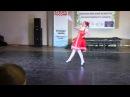 Тулица 2015 Солдатова Анастасия Танец с комариком коллектив Веселые капельки
