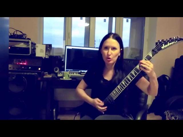 Anorexia Nervosa - Sister September (guitar cover, Blackthorn version)