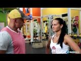 Тренируем ягодицы и ноги с чемпионкой Европы по фитнесу Анной Мехниной