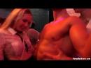 Жесткая оргия в закрытом ночном клубе (порно, групповой секс, секс пати)
