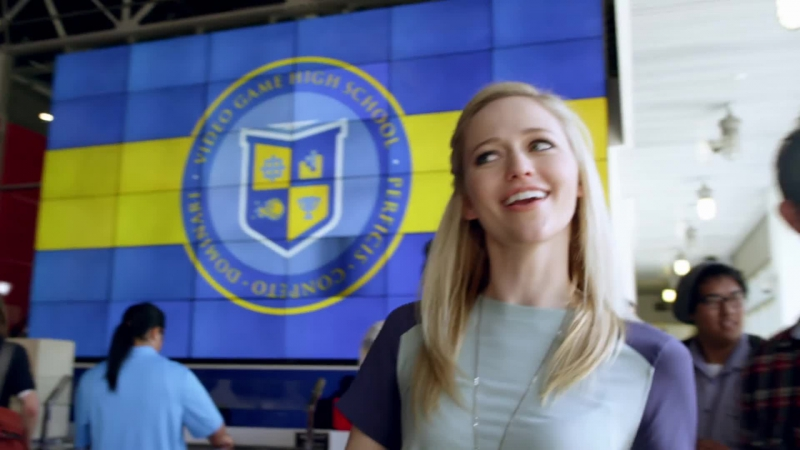 Video Game High School (VGHS) S03 E01 / Высшая Школа Видео Игр / Гимназия Видеоигр (озвучка stopgame.ru)
