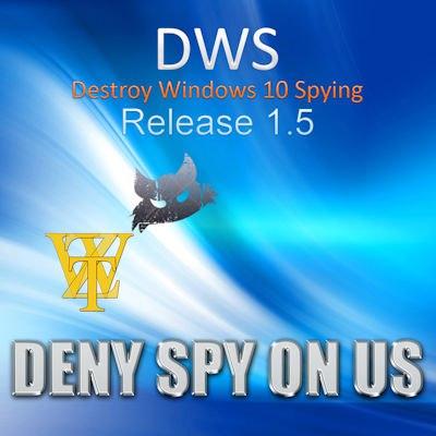 destroy windows 10 spying отзывы