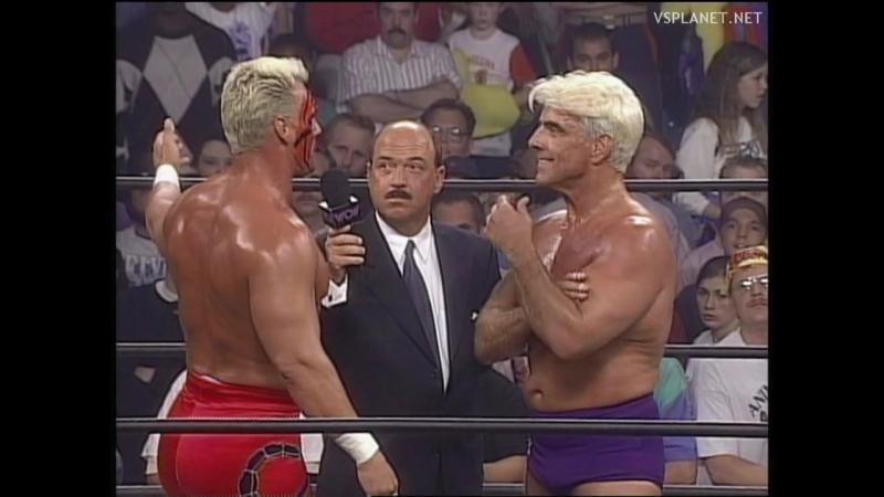 Ric Flair Sting @ WCW Monday Nitro 16.10.1995