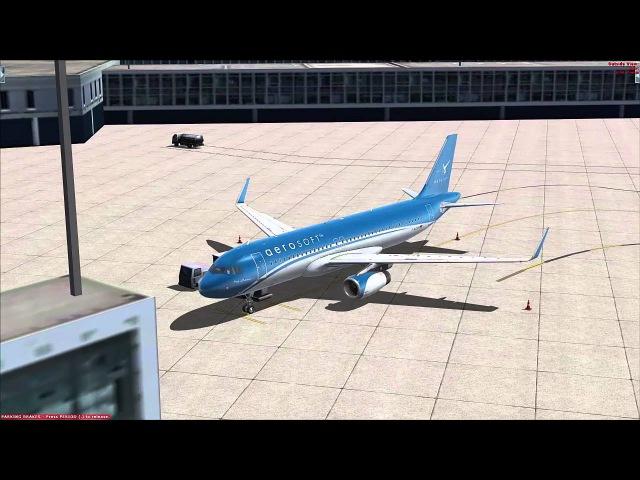 Aerosoft Airbus X A320neo IAE EDDF LOWW