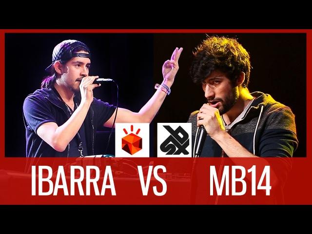 IBARRA vs MB14 | Grand Beatbox LOOPSTATION Battle 2016 | SMALL FINAL