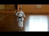 11-ти летняя девочка Чемпион по карате в Японии!