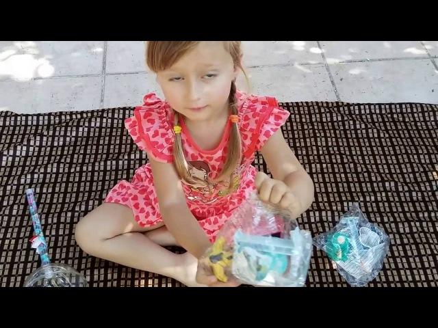 Большие ЧУПА ЧУПС Сюрпризы! Angry Birds распаковка игрушек. Unpacking toys. Видео для детей.