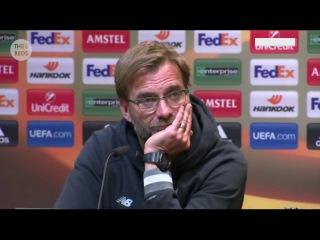 Borussia Dortmund vs. Liverpool - Jurgen Klopp pre-match press-conference
