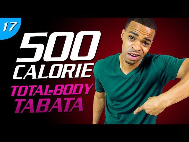 35 Min. Hard Body Tabata | 500 Calorie HIIT MAX Day 17
