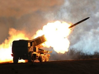 US Military Power HIMARS High Mobility Artillery Rocket System US missile-artillery system