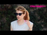 Emma Roberts Leaves The Gym After A Private Training Session In West Hollywood 4.5.16