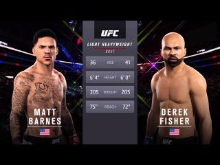 Matt Barnes vs. Derek Fisher UFC 2