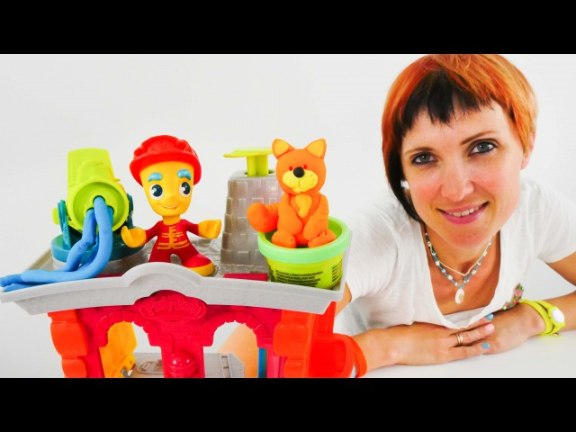 Видео для детей с Плей До. Маша Капуки и Игрушки для детей