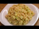 Рыбный салат из сёмги и риса / Fish salad with salmon and rice