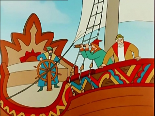 Сказка о царе Салтане (1984). мультфильм
