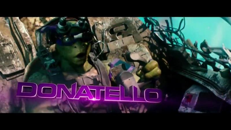 Підлітки мутанти черепашки ніндзя 2 Teenage Ninja Turtles Український трейлер №3