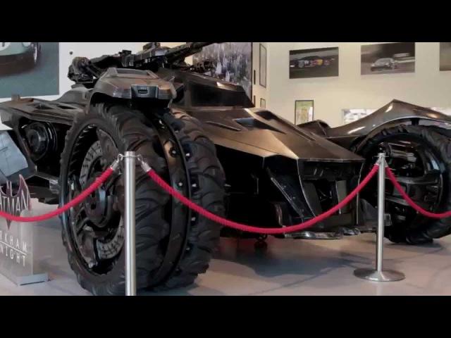 Life-size Batman Arkham Knight Batmobile in London 2015