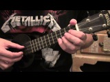 Metallica - How To Play Master Of Puppets On Ukulele - Part 1 - Ukulele Lesson - WITH TABS