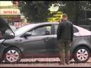 Водители Kia и Hyundai не поделили перекресток