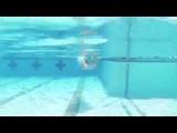 Техника плавания кролем TI