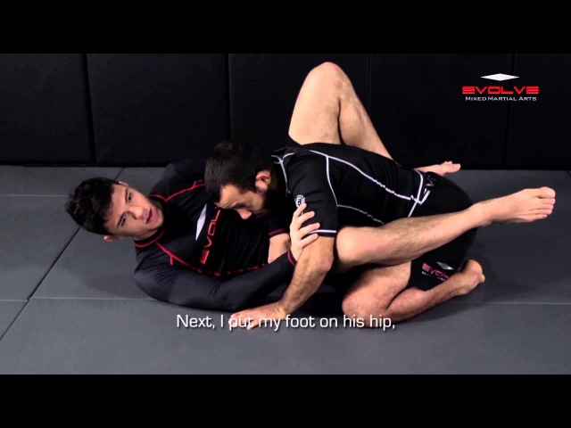 BJJ: ONE Superstar Bruno Pucci Triangle Choke Variation | Evolve University