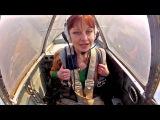 Калинка-малинка, девочка и самолет