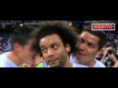 James and Cristiano Ronaldo Funny Moment on Marcelo Interview - Real Madrid vs Galatasaray 2015
