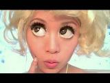 Леди Гага плохой Романс макияж.Lady Gaga Bad Romance Look