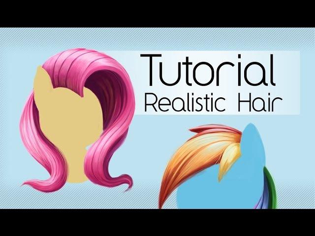 Cartoony Realistic Hair (Tsitra360 Tutorial)