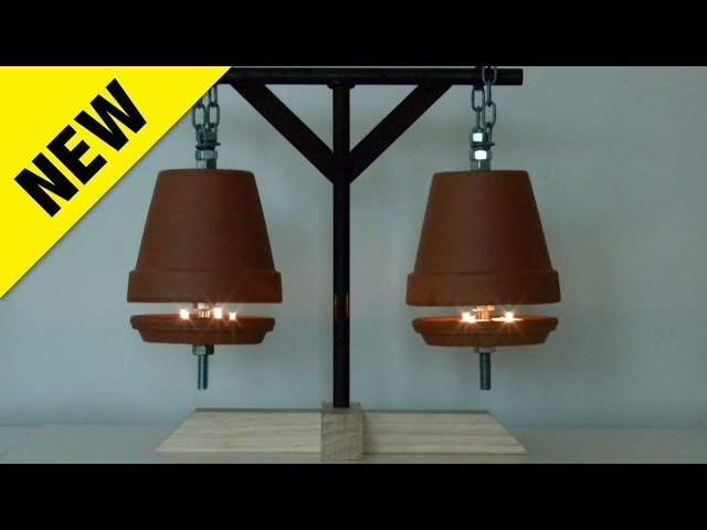 NEW Flower Pot Heater - Costs Just 4 Cents An Hour To Run...