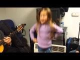 Ensayos de Indara con Paco Fernandez a la guitarra y Fran Barroso a la percusi