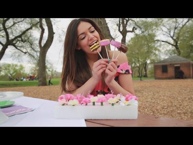 DIY Mother's Day: Tea Party, Gift Ideas - Bethany Mota TranslatedUP! [rus_sub]