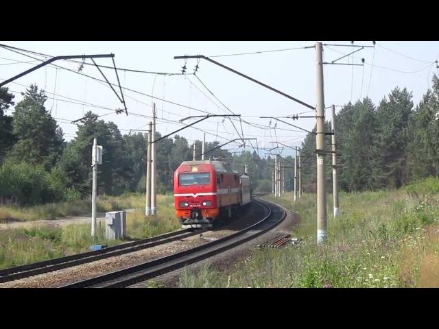 ЭП2К-106 с поездом №131 Ишим-Пермь