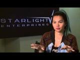 Jem and the Holograms: Hayley Kiyoko Aja Behind the Scenes Movie Interview