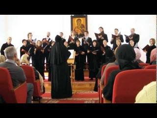 хор под управлением монахини Иулиании (Денисовой)