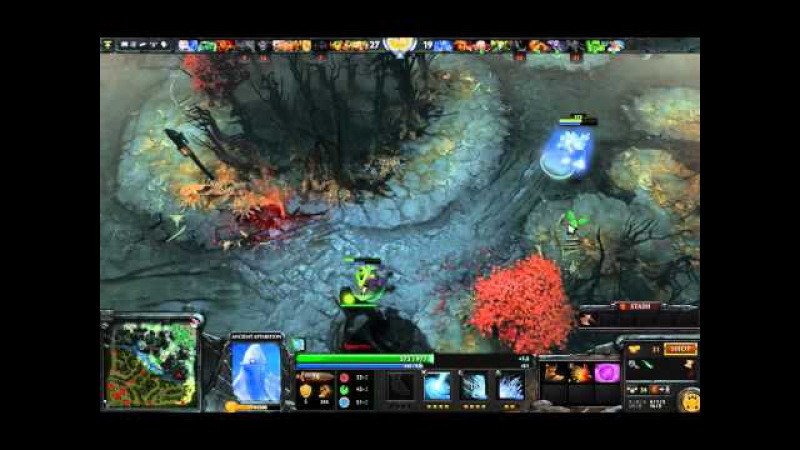 Let's play Dota 10v10 Ancient apparition part 1