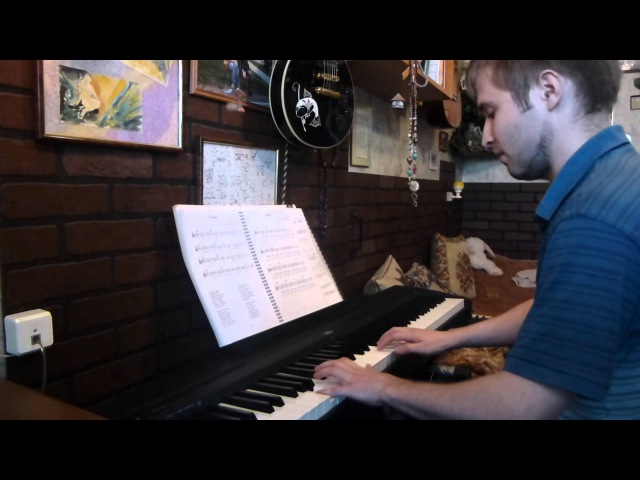 Огонёк в исполнении начинающего пианиста-любителя