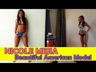 NICOLE MEJIA - Sexy Lingerie & Bikini Model: Beautiful American Model @ USA