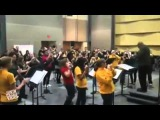 George Mason University marching band covers Rage Against The Machine