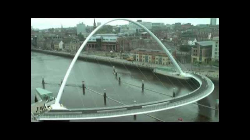 Мост Миллениум Гейтсхеде (Северная Англия)