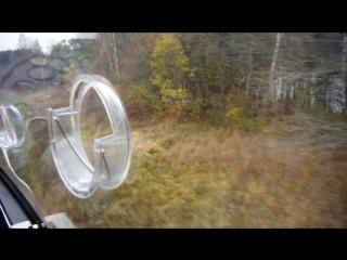 Низковысотный полет на автожире