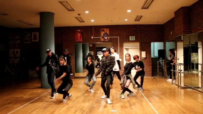[Dance practice] HIGH4 - D.O.A. (Dead or Alive)