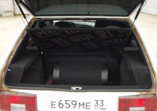 ваз 2114 багажник